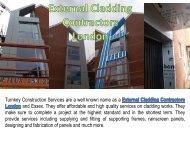 External Cladding Contractors London