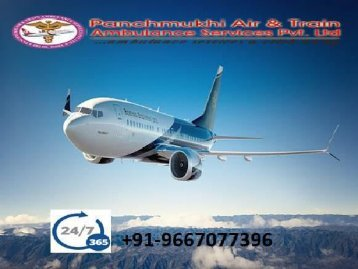 Air Ambulance Services in Varanasi with the Expert doctor