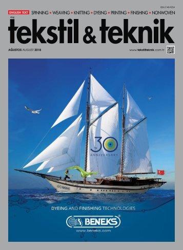 tekstil & teknik August 2018