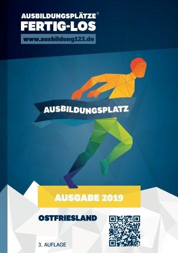 AUSBILDUNGSPLÄTZE - FERTIG - LOS | Ostfriesland 2019