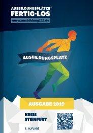 AUSBILDUNGSPLÄTZE - FERTIG - LOS   Steinfurt 2019