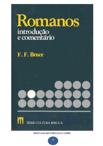 1 - Romanos - Introdução e Comentário