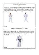 catalogue sabretooth taekwondo +hapkido saison 2018-2019 - Page 6