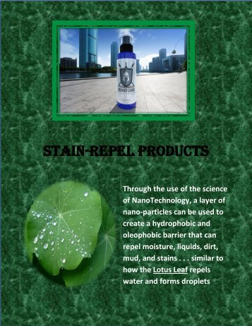 Stain-Repel Introduction Letter v4
