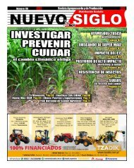 Revista Agropecuaria Nuevo Siglo Número 170 - AGOSTO 2018
