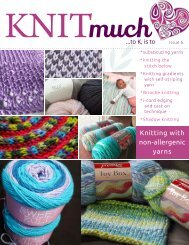 KNITmuch | Issue 06