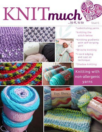 KNITmuch | Issue 6