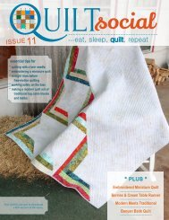 QUILTsocial | Issue 11