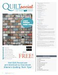 QUILTsocial | Issue 11 - Page 4