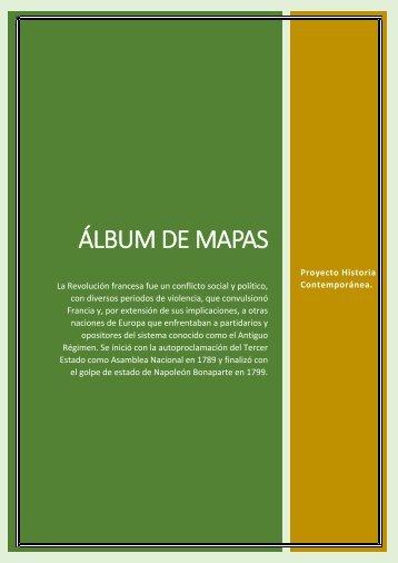 lbum de Mapas- Proyecto