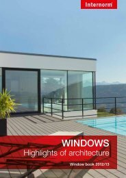 WINDOWS - Internorm-Fenster AG