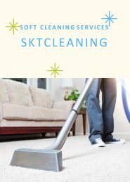 Soft Cleaning Services Dubai | SKT Cleaning