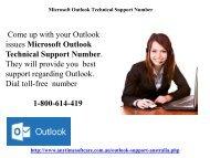 Microsoft Outlook Technical Support 1-800-614-419 | Forgot Password? Regain It