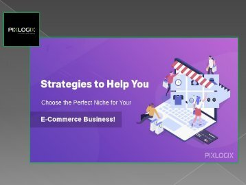 Strategies to Help You Choose the Perfect Niche for Your E-Commerce Business!
