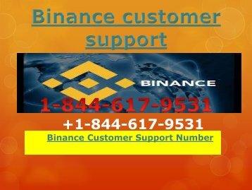 Binance customer Phone number