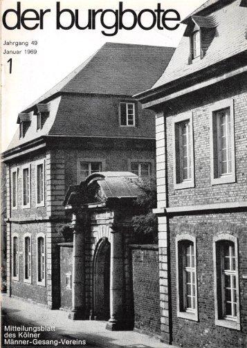 Der Burgbote 1969 (Jahrgang 49)