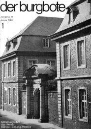 Der Burgbote 1968 (Jahrgang 48)