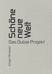 DAS DUBAI-PROJEKT – THE DUBAI PROJECT