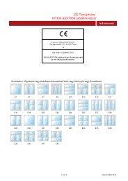 CE-Tanusítvány HF300 (EDITION) ablakrendszer -  Internorm ...