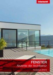 Verglasung I-tec - Internorm-Fenster AG