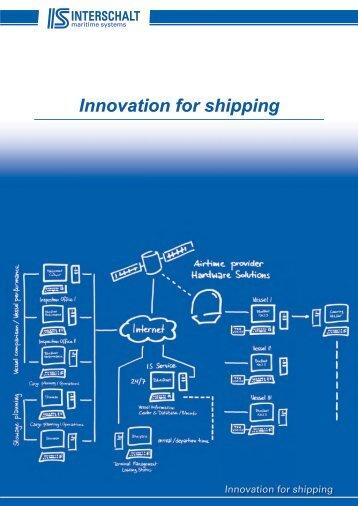 Innovation for shipping - INTERSCHALT maritime systems AG