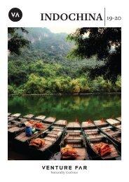 Venture Far - Indochina 19/20 Brochure