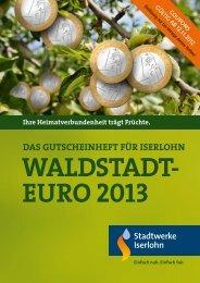 1Waldstadt-Euro rabatt - Gesellschaft für Wirtschaftsförderung Iserlohn