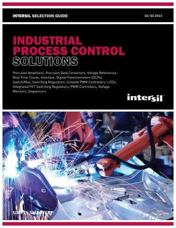 Industrial Process Control Solutions - Intersil