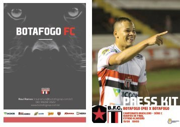 PRESS KIT: Botafogo (PB) x Botafogo - Quartas de Final - 19/08/2018