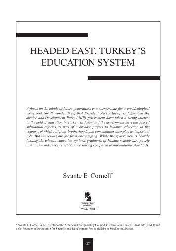 Headed East - Turkey's Education System (en_6377)