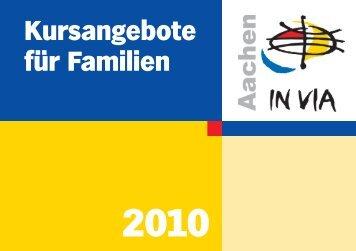 Fort- und W eiterbildung - IN VIA Aachen eV