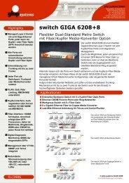 switch GIGA 6208+8 - ghip systems GmbH