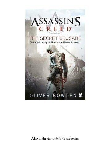 3. Assassin's Creed The Secret Crusade (Book 3)