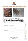 uprights for supermarket shelving - Ghk - Page 6