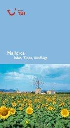 TUI InfosTippsAusfluege Mallorca