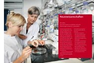 Neurowissenschaften - Gemeinnützige Hertie-Stiftung