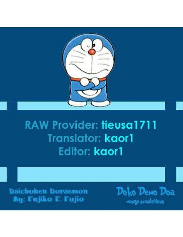 [Bai Giai Den Roi cham Com] - Truyen Dai Doraemon - Cuon 21