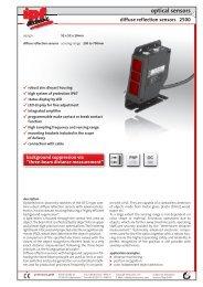 optical sensors - IPF Electronic GmbH