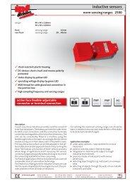 inductive sensors 2500 norm sensing ranges - IPF Electronic GmbH