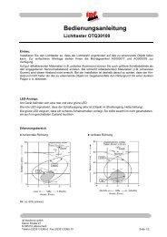 Bedienungsanleitung Lichttaster OTQ30100 - IPF Electronic GmbH