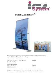 """System® Pylon """"Baden I"""" - Irus-System"""