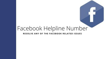 Facebook Helpnine Number - The Best Way To Resolve Your Issues!!!