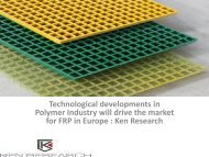 Europe FRP (Fiber-Reinforced Plastic) Grating Industry Overview