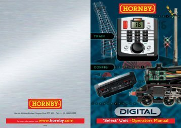 R8213 Select English Instruction Manual - Hornby (2)