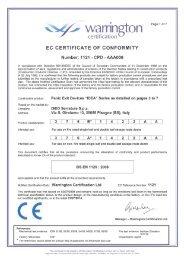 """90 warrington certification"