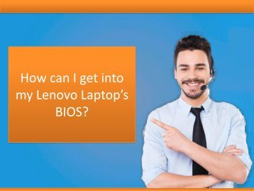 How can I get into my Lenovo Laptop's BIOS?
