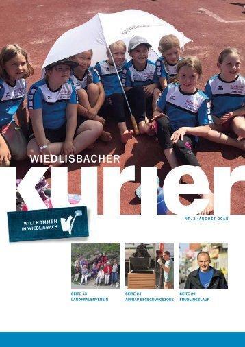 Wiedlisbacher Kurier 3/2018