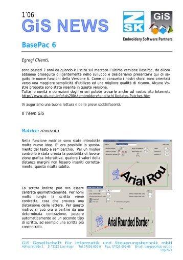BasePac 6 - gis-net.de