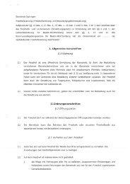 Gemeinde Ispringen Friedhofssatzung (Friedhofsordnung und ...