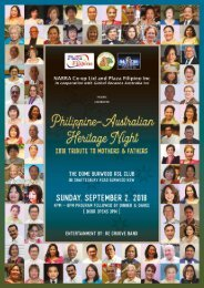Tribute to Mothers & Fathers 2018